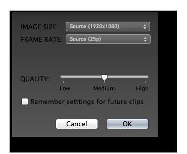 GoPro Come preparare i file video per l'editing (Apple/Mac)
