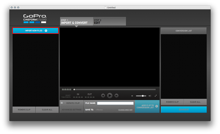 Gopro редактор видео